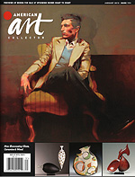 American Art Collector Magazine Cover